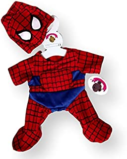 Build Your Bears Wardrobe Teddy Bear Clothes fits Build a Bear Teddies Spider Bear Costume (  sc 1 st  Amazon UK & Green hulk giant outfit / teddy clothes to fit 15