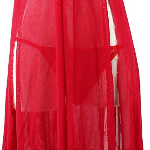 LHWY Damen Dessous Damen Unterwäsche Nachtwäsche Babydoll Lace Kleid String Nachtwäsche