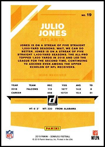 Amazon.com: 2019 Donruss #19 Julio Jones NM-MT Atlanta ...