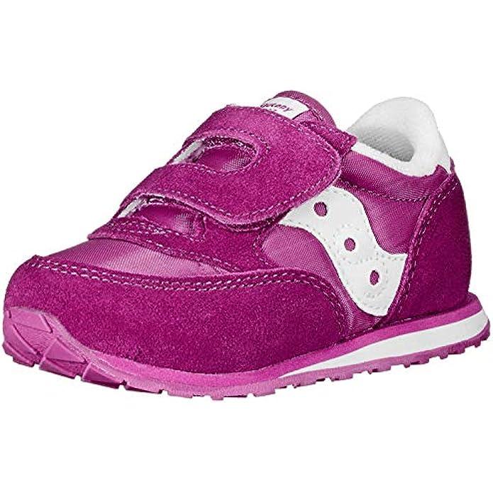 Saucony Little Kid/Big Kid Grid Fusion Hook-And-Loop Sneaker