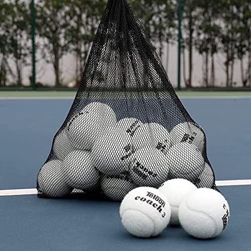 Pelotas de tenis de entrenamiento Teloon pack 18 blancas