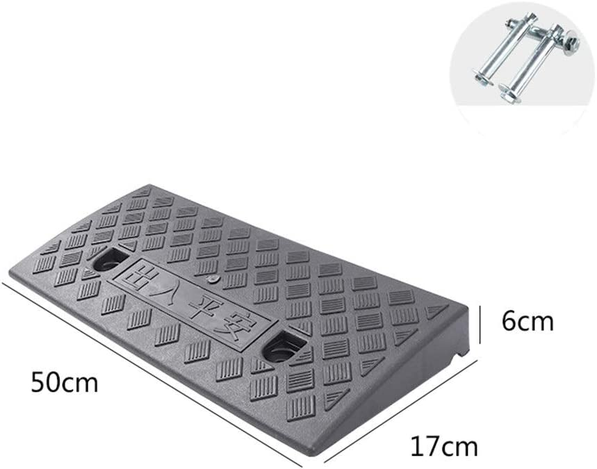 11 way bike CSQ-Ramps Baby Carriage Ramps,Convenience Store Service Ramps Threshold Plastic Ramps Motorcycle Ramps Car Repair Shop Ramps//Height 3CM//5CM//6CM Kerb Ramps Color : Black, Size : 50176CM