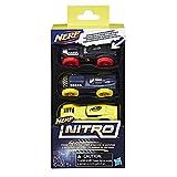 Nerf Nitro Foam Car 3-Pack, Set 4