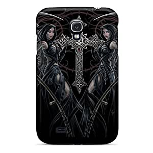 BretPrice Perfect Tpu Case For Galaxy S4/ Anti-scratch Protector Case (gothik)