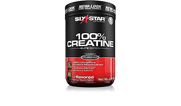 Amazon.com : Six Star Pro Nutrition Elite Series 100% Creatine, 400 Gram  Powder- Unflavoured US (Packaging may vary) by Six Star : Baby