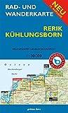 Rad- und Wanderkarte Rerik, Kühlungsborn<br>: Mit Heiligendamm, Neubukow, Kröpelin. Maßstab 1:30.000. Wasser- und reißfest.