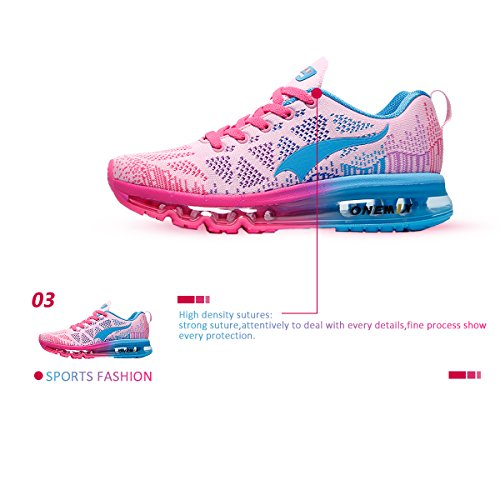 Cushion Lightweight shoes Pink Outdoor Womens Onemix Blue Sport Air running wa6Snvtqx