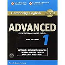 Cambridge English Advanced 1 for Revised Exam from 2015 Student's Book Pack (Student's Book with Answers and Audio CDs (2)): Authentic Examination Pap