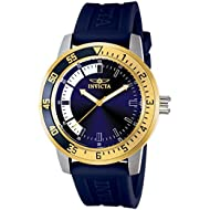 Men's 12847 Specialty Stainless Steel Watch with Blue Band