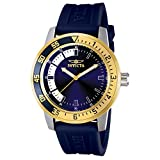 Invicta Mens 12847 Specialty Stainless Steel Watch with Blue Band