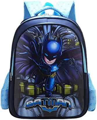 YOURNELO Boy s Cartoon Marvel DC Comics Rucksack School Backpack Bookbag 66d74eae30