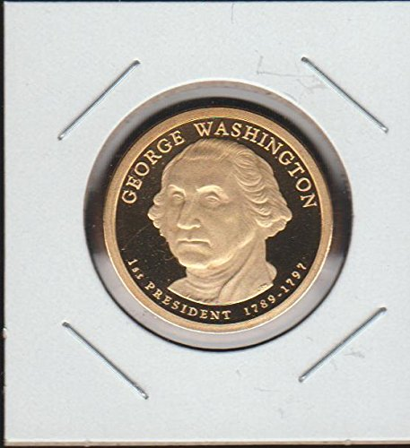 (2007 United States Presidential George Washington $1 Superb Gem Proof DCAM US Mint)