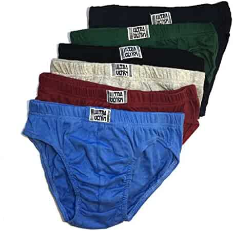 dec78a302ed1 Ultra Mens Bikini Underwear Briefs Low Rise Sport Brief Cotton Perfect for  Equipo