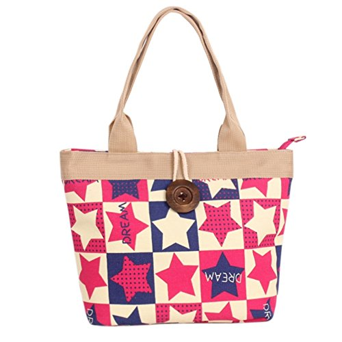 Hipytime BHB880426C6 Fashionable Canvas Leisure Women's Handbag,Vertical Section Square Lock - Shop Fendi London