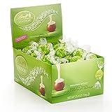 Lindt Lindor Spring Flower, Milk & White Milk Chocolate Truffles Box, 60 Count 25.4oz(720g)