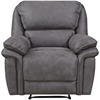 Mstar Jackson Lay Flat Power Recliner with USB Charging Port and Memory Foam Seat Topper