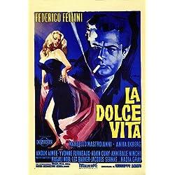 La Dolce Vita POSTER Movie (27 x 40 Inches - 69cm x 102cm) (1961) (Italian Style A)