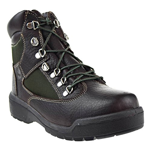 Timberland 6 Inch Field Waterproof Mens Boots Dark Brown tb0a1nlf ekuue