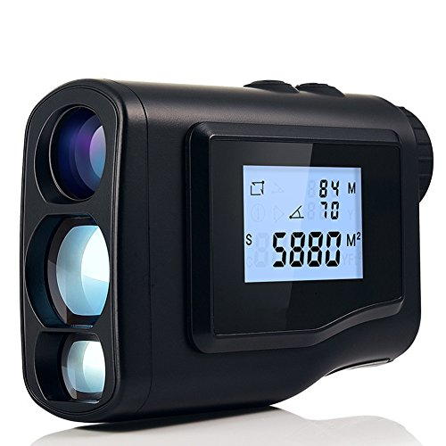 Julitech Golf Rangefinder Laser Range Finder Tool For Hunting 600M/1000M Laser Distance Meter Monocular With Scan Speed 6X Measurement Optic,1000M
