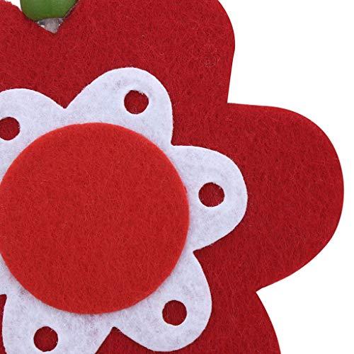 Easter Ornaments Flower Pendant Petal Pendant Home Hanging Decorations by CAVSDARR (Image #3)