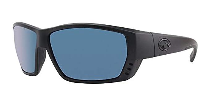 50cae473f6a Costa Tuna Alley Sunglasses Blackout Blue Mirror 580P   Carekit Bundle