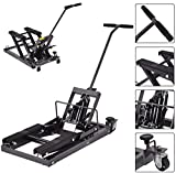 K&A Company Lift Motorcycle Atv Jack Stand Quad Bike Hoist Dirt Street 1500 Lbs New Professional Craftsman Steel Wheels Pro