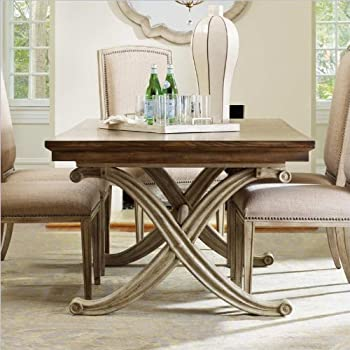 Hooker Furniture Sanctuary Rectangle Dining Table In Dune And Amber Sands