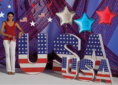 - Shindigz USA Letter Set (4 FT)