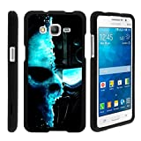 Miniturtle [Samsung Galaxy Grand Prime black case, Grand Prime case ][Snap Shell] 2 Piece Design Case, Perfect Fit Hard Rubberized Protector - Demon Cyborg