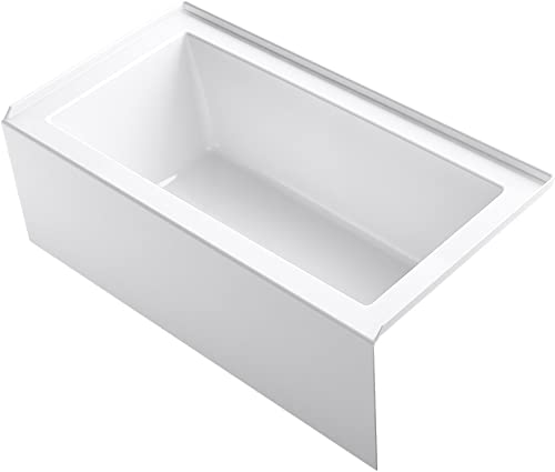 KOHLER 20202-RA-0 Underscore Bathtub, White