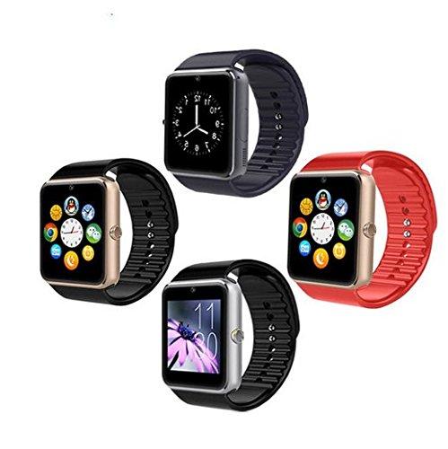 AlbitaStore GT08 Smart Watch / Reloj inteligente GT08 (disponible en español) / Reloj Bluetooth / Reloj Android / Reloj para la salud con pantalla táctil y ...