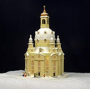 Amazon De Lichterhaus Dresdner Frauenkirche Elektrisch Beleuchtet