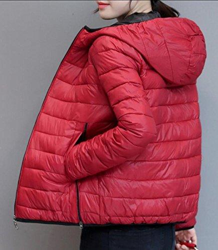 Red amp;W Light amp;S Winter Jackets Hoodies M Packable Down Puffer Women's 6BvWcFq