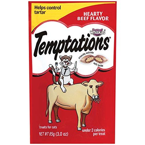 Temptations Classic Cat Treats - Hearty Beef - 3 oz