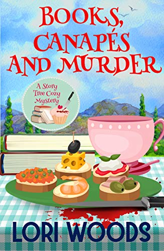 Books, Canapés and Murder: A Story Tree Cozy Mystery (Moving Party Invitations)