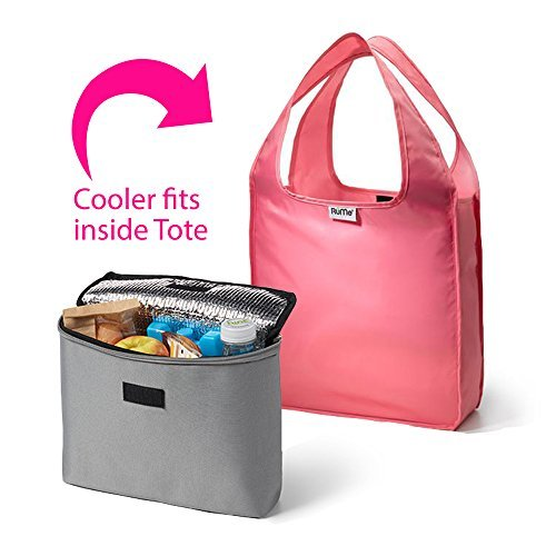rume-bags-mini-tote-with-2cool-insulated-lunch-bag-cooler-set-of-2-blush