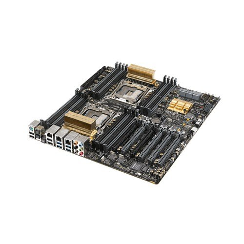 ASUS Z10PE-D16 WS LGA2011-v3/ Intel C612 PCH/ DDR4/ Quad CrossFireX and 3-Way SLI/ SATA3&USB3.0/ M.2/ A&V&2GbE/ EEB Server Motherboard by Asus (Image #1)