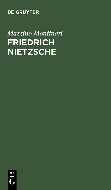 Friedrich Nietzsche. Eine Einführung