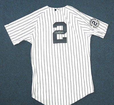 Image Unavailable. Image not available for. Color  Signed Derek Jeter Jersey  - Yankee Captain ... 35e930ddf11