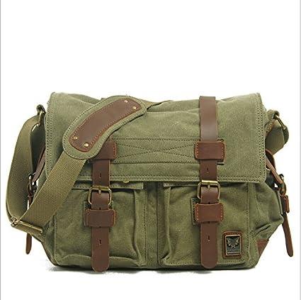 Image Unavailable. Image not available for. Color  Lollipop Men s Shoulder  Bag Vintage Military Men Canvas Messenger Bag ipad ... 2dde23ec14891
