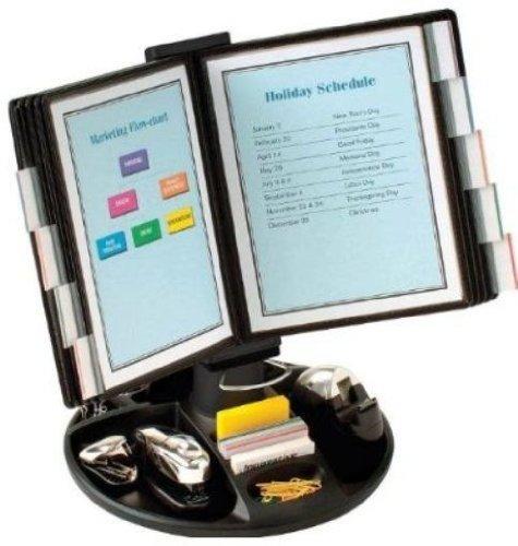 - Aidata USA FDS021L Flip & Find Desktop Organizer
