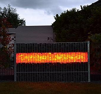 Gabionen Beleuchtung led beleuchtung steinzäune gabionen 0 85m rgb mit fb amazon de