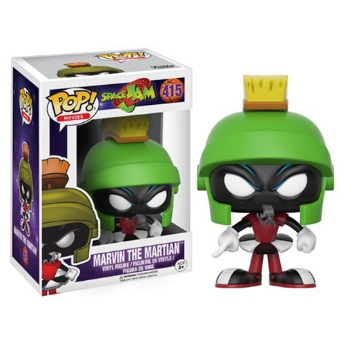Funko POP Movies Space Jam Marvin Action Figure