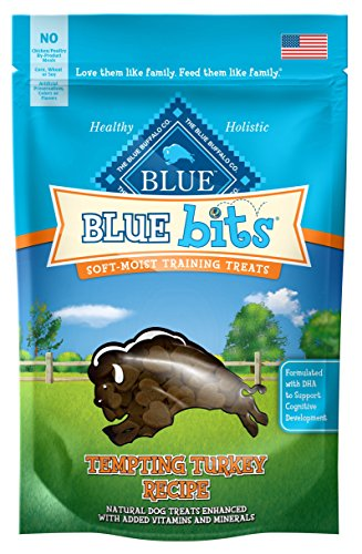 Blue Turkey Bits Dog Treats, 4 Oz (8 Pack) (Blue Bits Tender Beef Recipe)