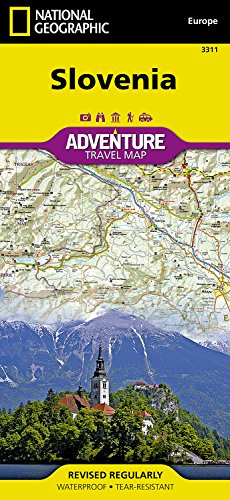 Slovenia (National Geographic Adventure Map)...