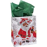 60 Christmas Tissue Paper Sheets For Holiday Crafts Decor Packaging Wrapping and Bags 2 Solid Colors of 35 Red Tissue Paper and 25 Green Tissue Paper by Gift Boutique