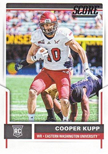 2017 Score Football #416 Cooper Kupp RC Eastern Washington Eagles