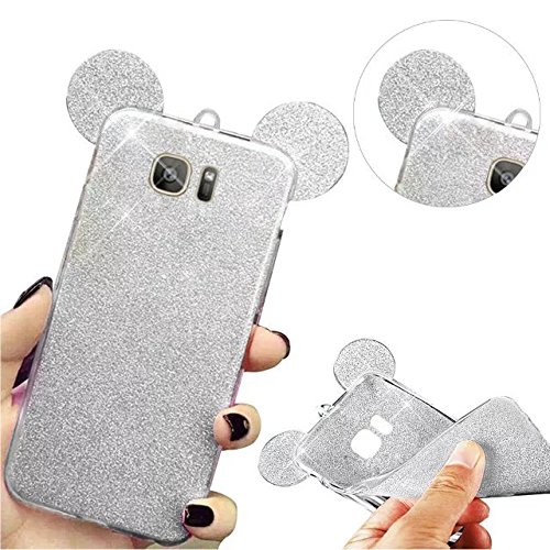 MOMDAD Etui Samsung Galaxy S6 Edge Coque Fine de Protection pour Galaxy S6 Edge Housse Portefeuille Samsung Galaxy S6 Edge TPU Silikon Etui Souple Housse Soft Cases Covers