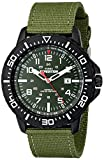 Military Watches Timex Men's T49944 Expedition Uplander Black/Green Nylon Strap Watch
