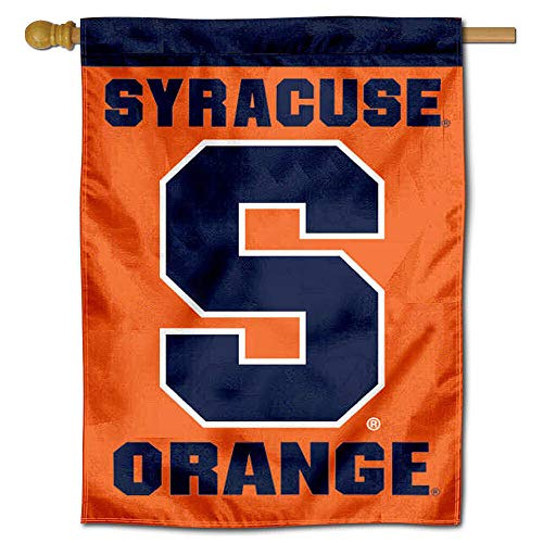 College Flags and Banners Co. Syracuse University Banner House Flag - Banner University House Flag